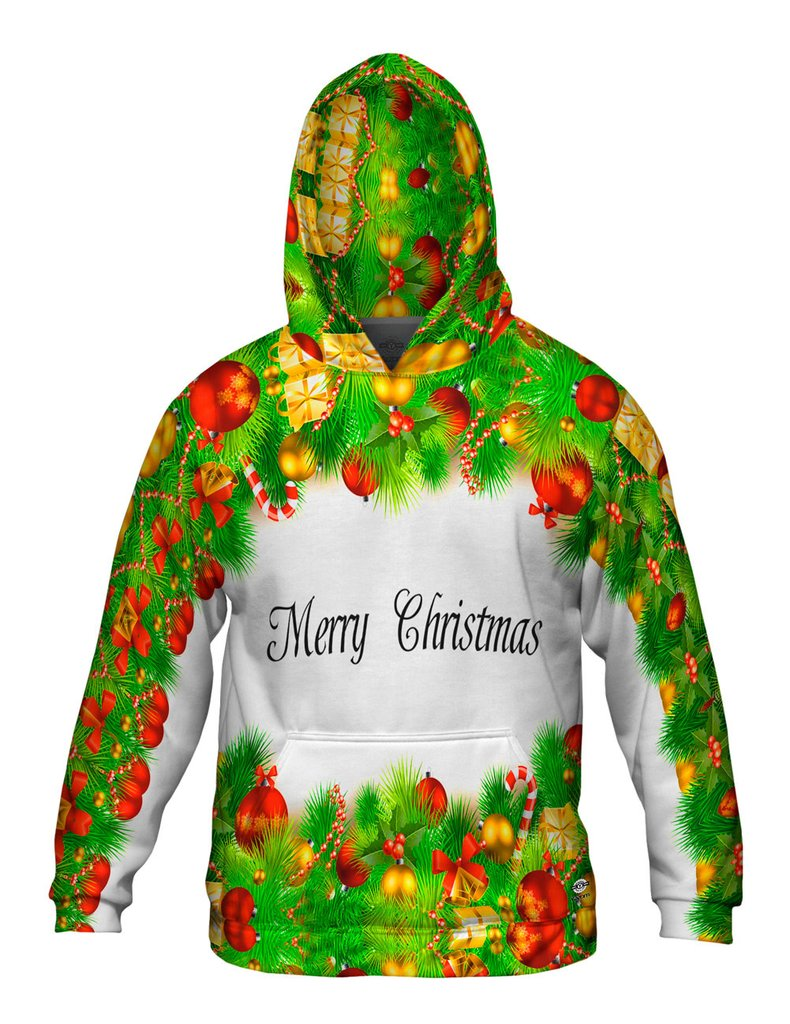 Christmas Garland Mens Sweater