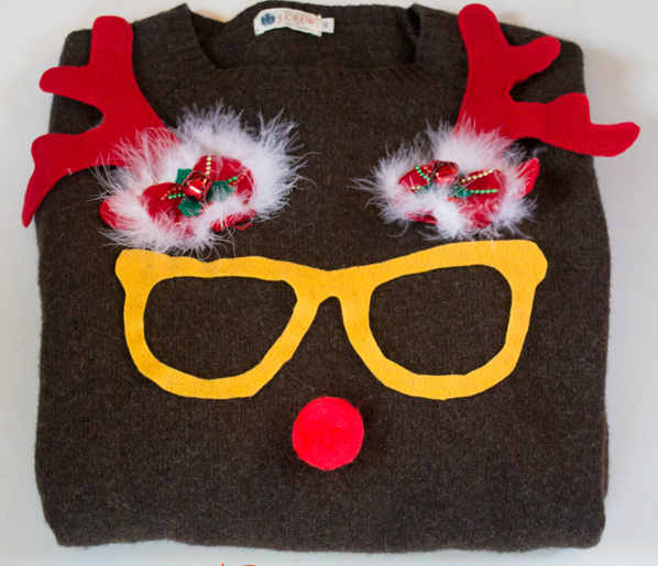 Rudolph Tacky Sweater