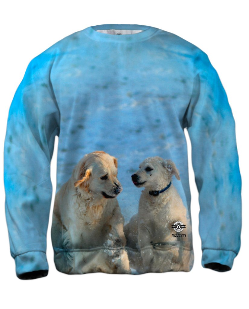 Golden Retriever Pup Mens Sweatshirt