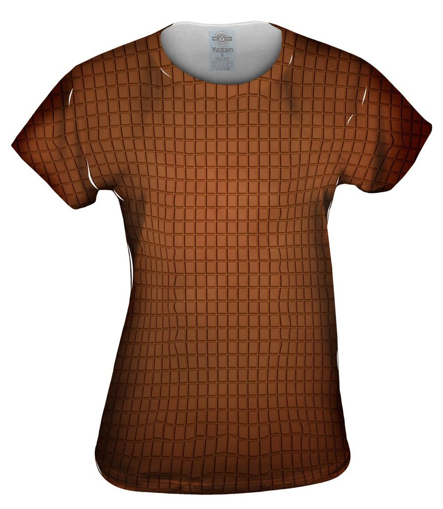 Chocolate Squares Womens Tshirt