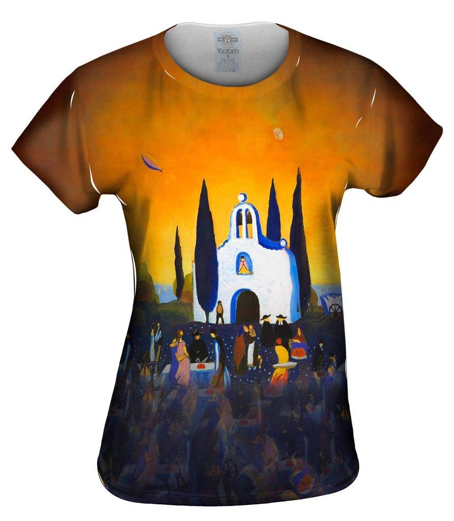 Salvador Dali Romeria-Pilgrimage Womens Tshirt
