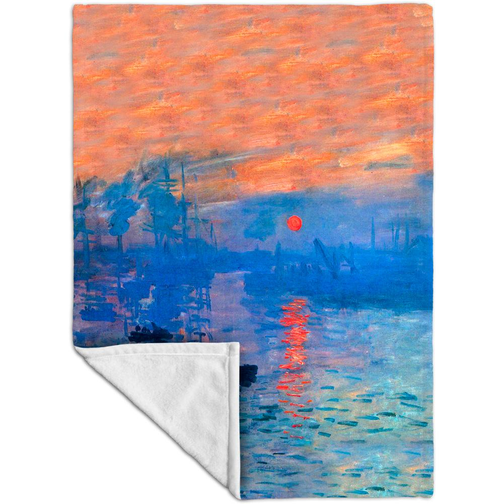 Claude Monet Fleece Blanket