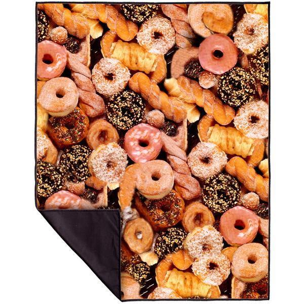 Happy Donuts Picnic Blanket