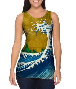 Hokusai Great Wave Womens Tank