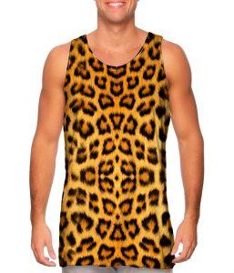 Leopard Skin Mens Tank