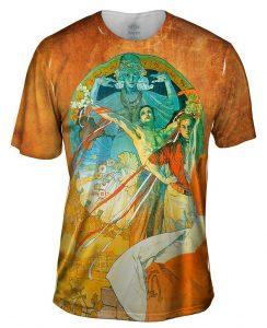 Mucha 8Th Sokol Festival Mens Tshirt