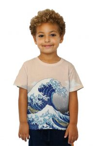 Hokusai Wave Kids Tshirt
