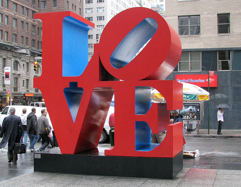 LOVE-sculpture-by-Robert-Indiana